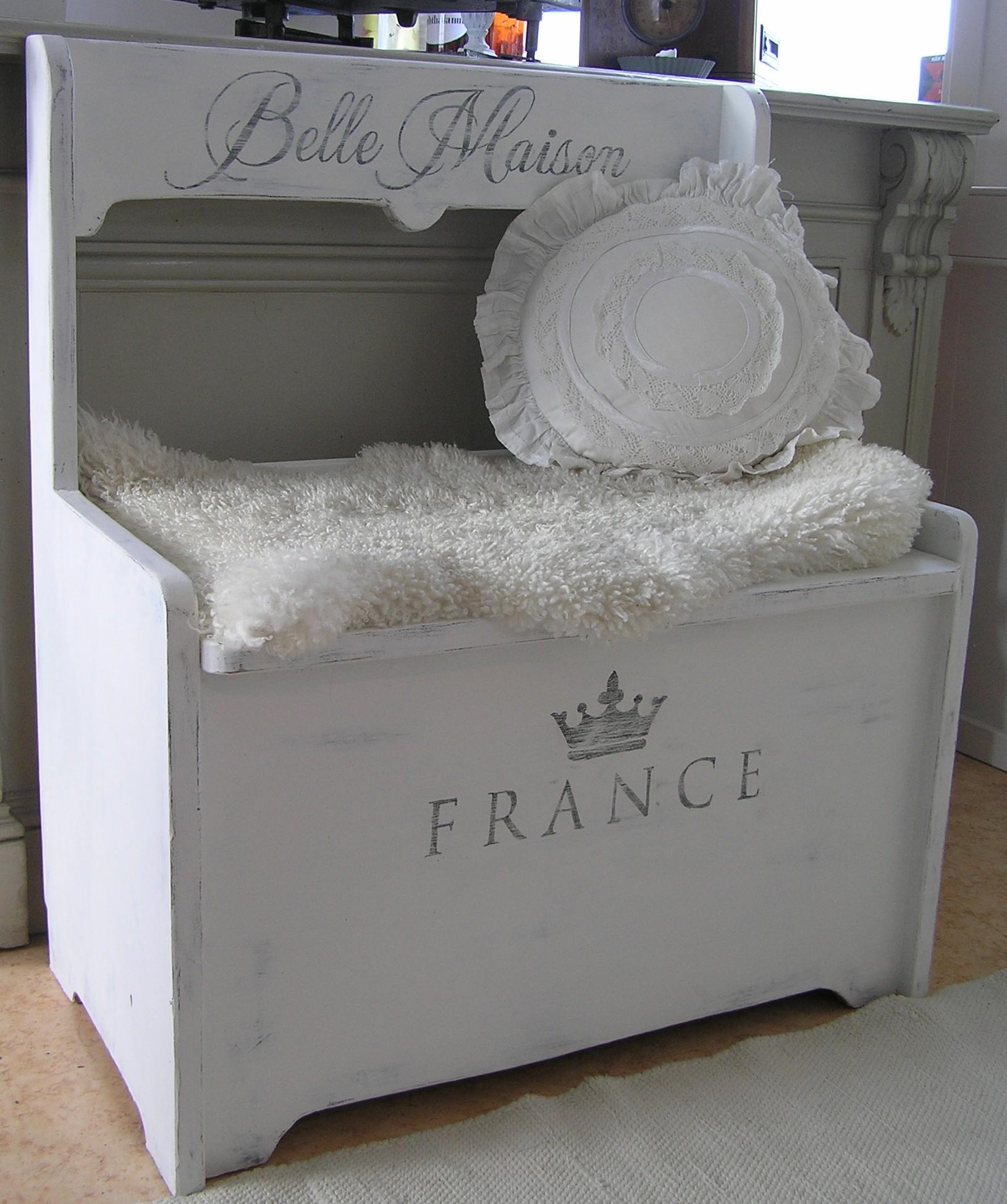 Himlarum Liten Nätt Soffa Belle Maison Med Förvaring