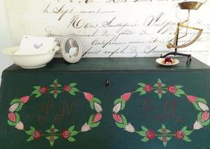 Allmoge sekretär från 1860