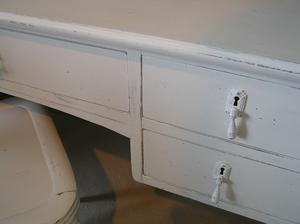 Antikvitt skrivbord från ca 1910