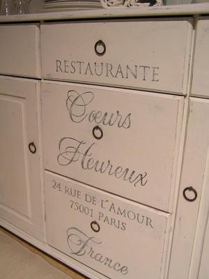 Köksskänk Restaurante Coeurs Heureux