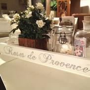 "Avlång låda ""Roses de Provence"""