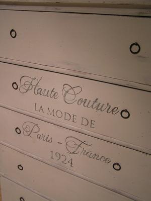 Femlådig stor byrå Haute Couture