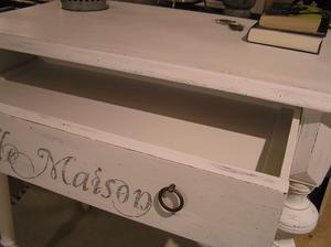 Litet skrivbord databord köksbord Belle Maison