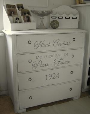Byrå shabby chic Haute Couture